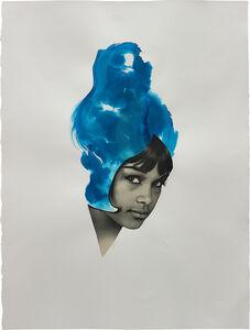 Lorna Simpson, 'Ultra Blue', 2013