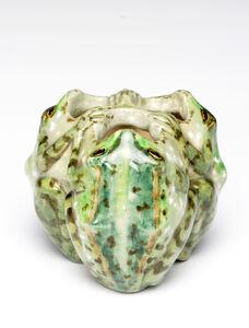 Edmond Lachenal, 'Frog Cluster', 1893