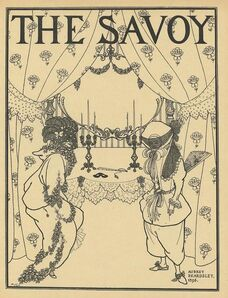 Aubrey Beardsley, 'Title page design for No. 1 of The Savoy, printed in A Book of Fifty Drawings, by Aubrey Beardsley ', ca. 1897