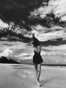 Marco Glaviano, 'Cindy C. on the Beach'