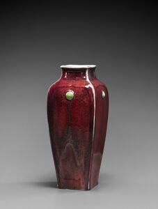 Taxile Doat, ''Lava' vase ', 1907