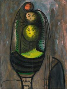 Wifredo Lam, '( manana verde )', 1943