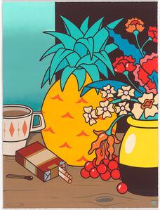 DabsMyla, 'Still Life With Coffee & Cigarettes', 2015