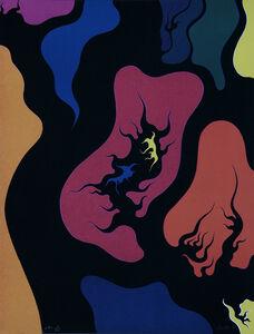 Luigi Boille, 'Red Hell', 1971