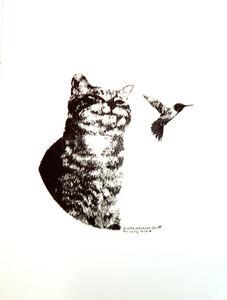Patrick Lichty, 'RIC: Random Internet Cat #3', 2014