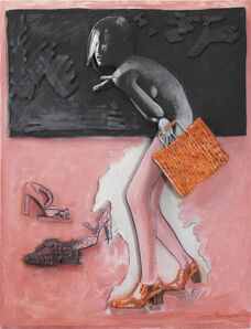 Larry Rivers, 'Figure, Shoes and Bag', 1998