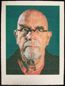 Chuck Close, 'Self-Portait', 2016