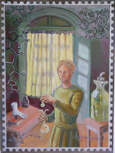 Kathy Weinberg, 'Madame Curie / Eight Cents', 2019