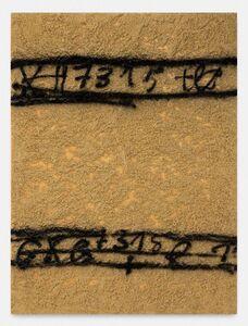 Antoni Tàpies, '7315 i terra', 1992