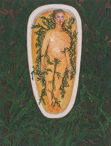 Sarah McEneaney, 'Seaweed Bath', 2016