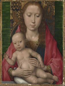 Hans Memling, 'Virgin and Child', perhaps about 1475