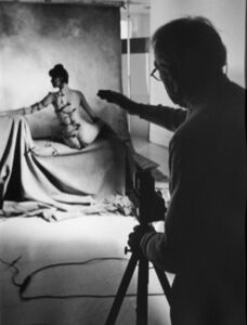 Ed Pfizenmaier, 'Horst P. Horst (Photographing nude in studio)', 1982