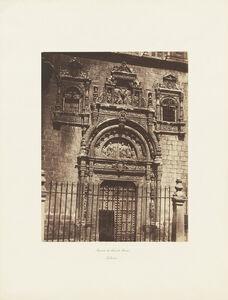 Charles Clifford, 'Puerta de Santa Cruz, Toledo', ca. 1860