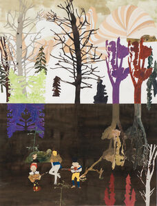 Jockum Nordström, 'Dödsskogen', 2001