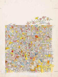 Mark Alan Stamaty, 'Spring Books', 1980