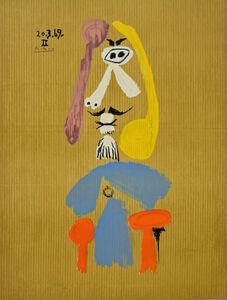 Pablo Picasso, 'Portrait Imaginair '20-3-69 II'', 1970