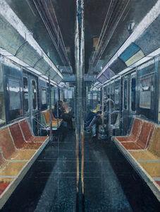 Bernardo Siciliano, 'Tender is the Night (Subway)', 2019