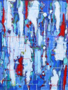 Yoko Mitsuyuki, 'Blue Conflict', 2014