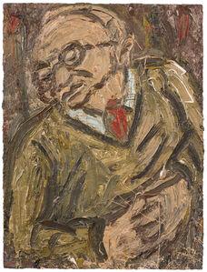 Leon Kossoff, 'Portrait of Chaim No. 2', 1987