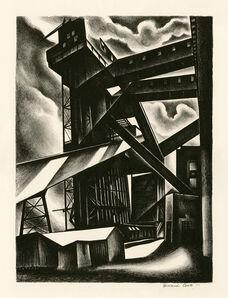 Howard Cook, 'Edison Plant', 1930