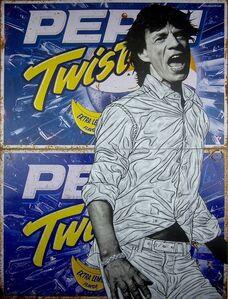Pakpoom Silaphan, 'Mick Jagger On Pepsi Twist ', 2016