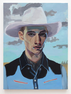 Janet Werner, 'Cowboy with white hat', 2007