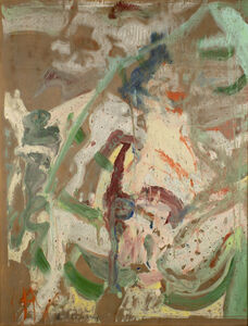 Willem de Kooning, 'Woman in a Rowboat', 1964