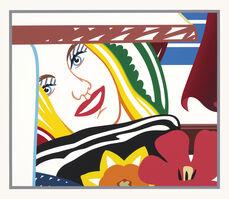Tom Wesselmann, 'FROM BEDROOM PAINTING #41', 1990