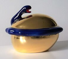Niki de Saint Phalle, ''SERPENT', Ceramic Powder Box, Edition of 1000.', 1983