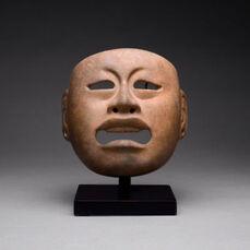 Olmec Jadite Mask