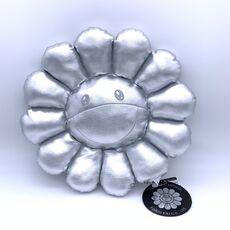 Flower Cushion (Silver)