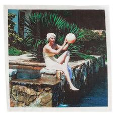 Untitled (Poolball), 1999 Set of four napkins