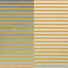 Ricerca del colore. Azzurro su arancio