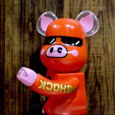 "BE@RBRICK X G SHOCK X ACU ""YEAR OF THE PIG"" 400% FIGURINE"