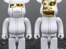 Set Daft Punk RAM 400% White