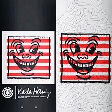 Keith Haring Skateboard Decks: Set of 2