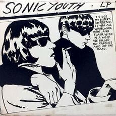 Rare Original Raymond Pettibon record art, Sonic Youth Goo