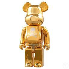 BEARBRICK 1000% Mastermind Japan Gold