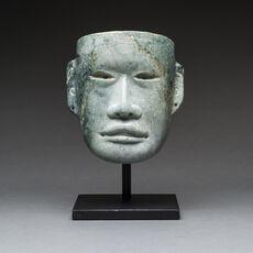 Olmec Pesquero Style Jade Mask