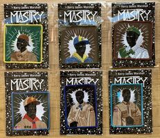 Kerry James Marshall, 'Scout Series, Complete Set of Six (6) Embroidered Patches', 2017