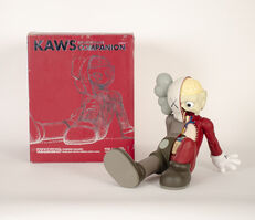 KAWS, 'COMPANION (RESTING PLACE) (Brown)', 2012
