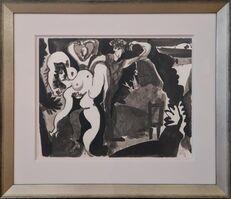 Pablo Picasso, 'Dancing woman', 1960
