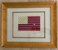 Jasper Johns, 'Flag', Unknown