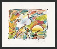 Peter Max, 'SUNSET PROFILE', 1980