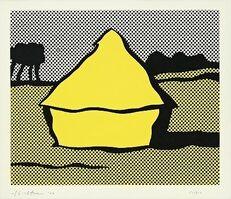 """Roy Lichtenstein, '""""Yellow Haystack""""', 1969"""