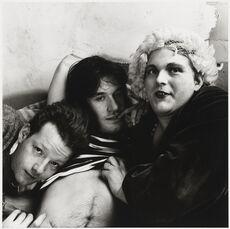 Jackie Curtis, Lance Loud and Paul Ambrose
