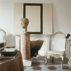 Cy Twombly in Rome 1966 - Untitled #12, Large Canvas