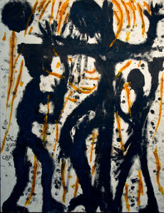 Louis Soutter, 'Jésus-Christ sur croix', 1937-1942