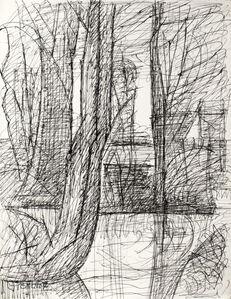 Marcel Gromaire, 'Abres à Noyelles (Trees in Noyelles)', 1900s
