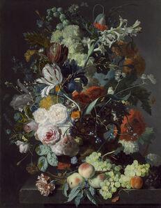 Jan van Huysum, 'Still Life with Flowers and Fruit', ca. 1715